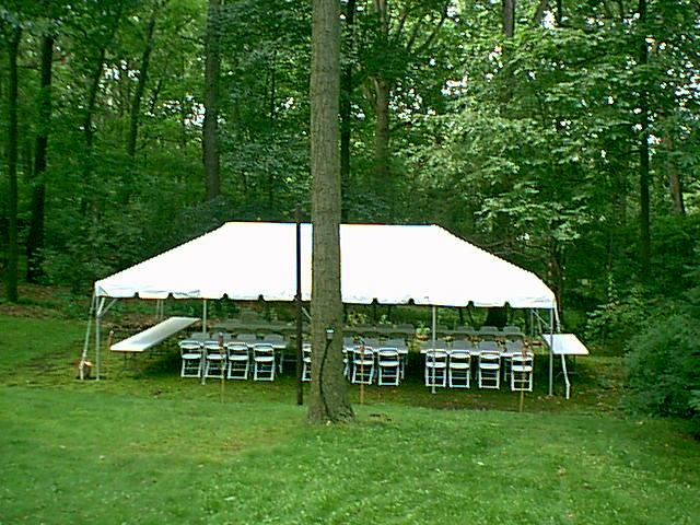 20x40 Frame tent | DifferRentals